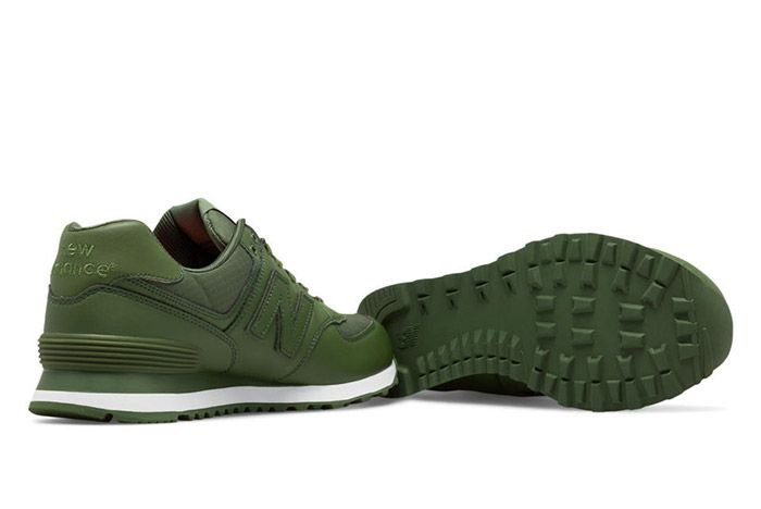 New Balance 574 Flight Jacket Green 1