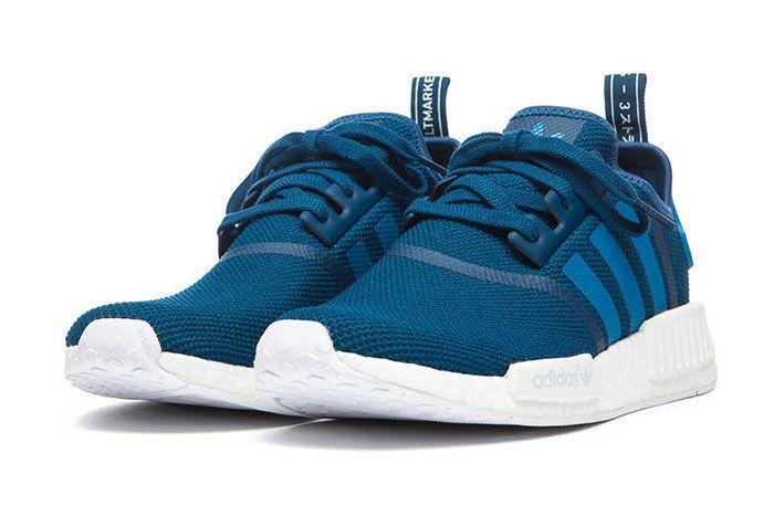 Adidas Nmd Blue White 2