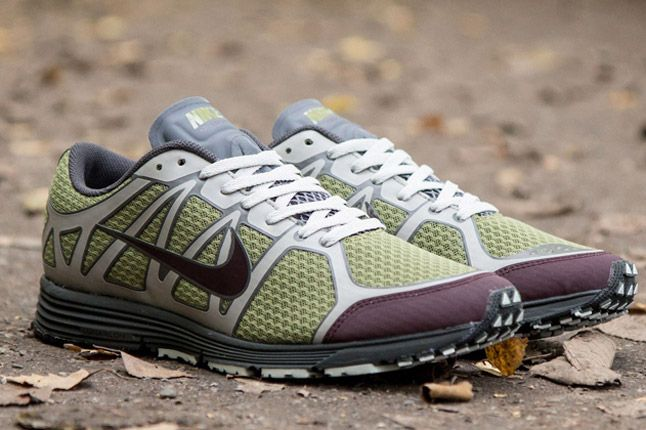 Undercover Nike Lunarspeed Lite Gyakusou Green Burgundy Grey Quater Toes 1