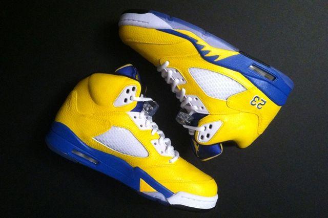 Nike Air Jordan 5 Laney Custom Flip 3