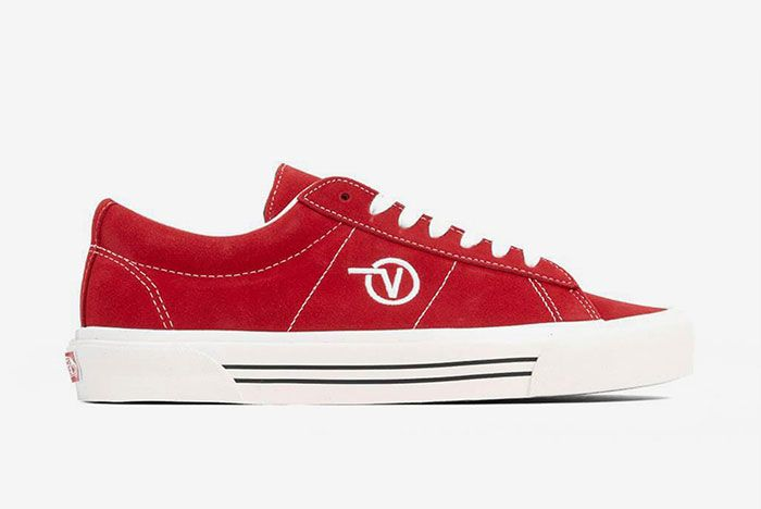 Vans Sid Anaheim Red Lateral