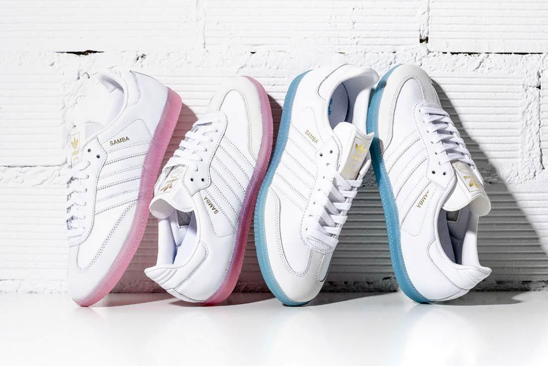 Adidas Samba Womens White Ice Pack 1