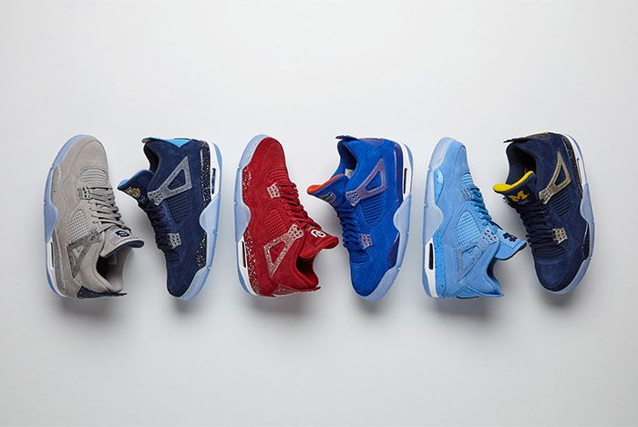 Air Jordan 4 Why Not Ncaa Pe3 Group Shot