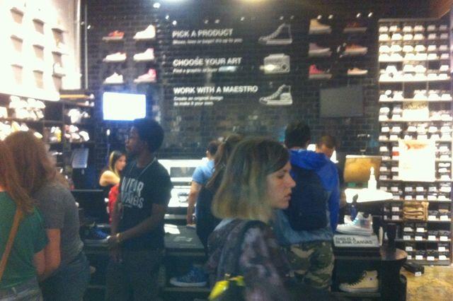 Converse Store New York City Customise