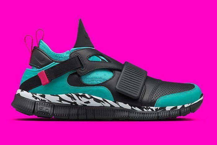 Nike Huarache Carnivore Emerald 4