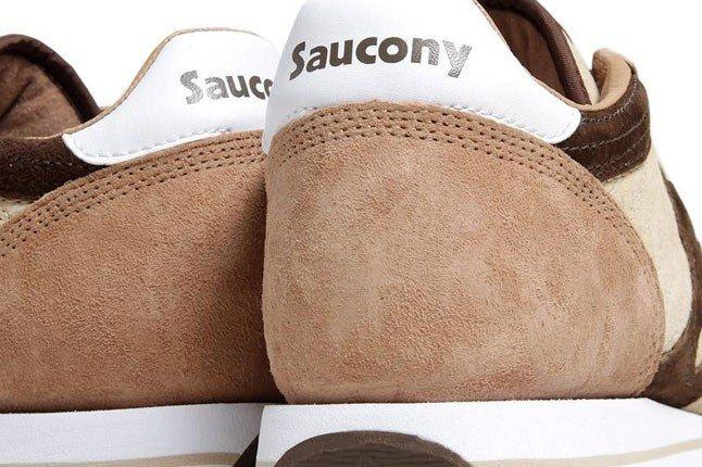 Saucony Jazz Espresso Heel 1