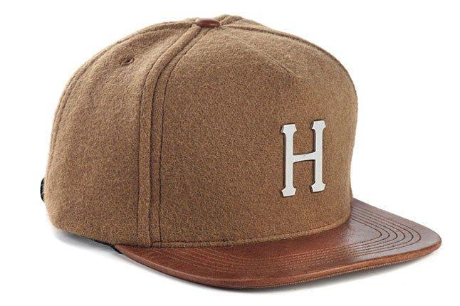 Huf Leather Brim 1