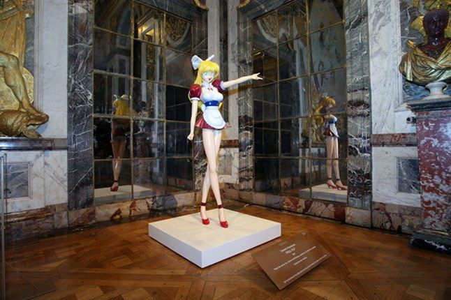 Takashi Murakami Exhibition The Chateau De Versailles Party 1 1