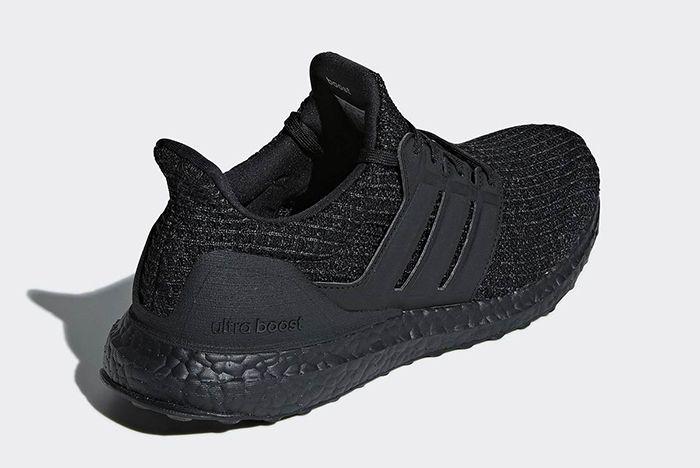 Adidas Ultra Boost Triple Black Nubuck Cage 3