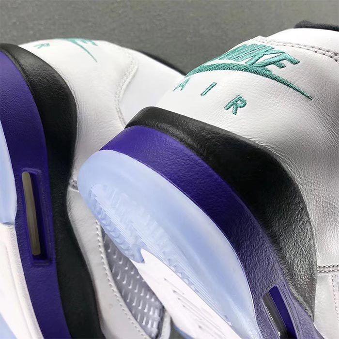 Air Jordan 5 Nrg Fresh Prince Grape 2018 6