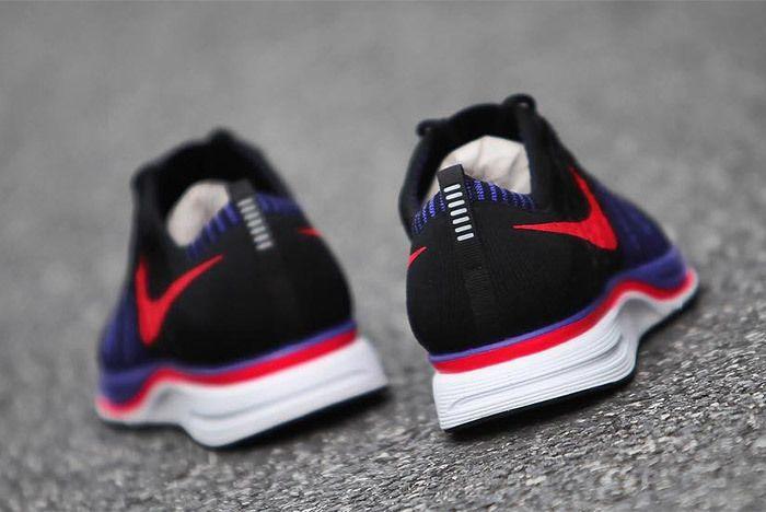 Nike Flyknit Trainer Red Purple Black 8