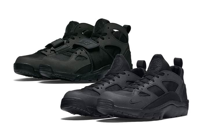 Nike Air Trainer Huarache Black Out