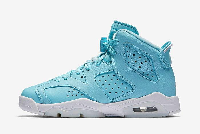 Air Jordan 6 Pantone Blue Gs 5