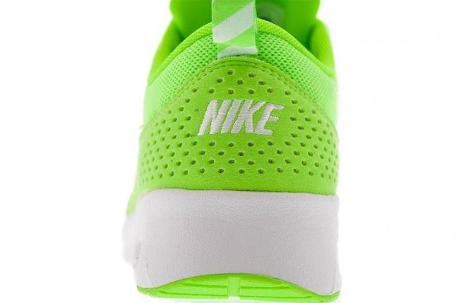 Nike Air Max Thea Lime Heel 1