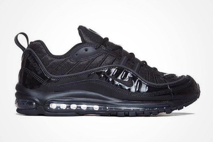 Supreme X Nike Air Max 98 Black 3