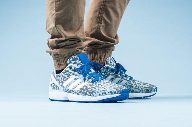 Adidas Zx Flux Weave Ocean Blue 3