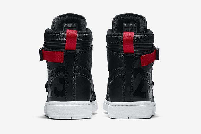 Air Jordan 1 High Moto Black Red Official 5