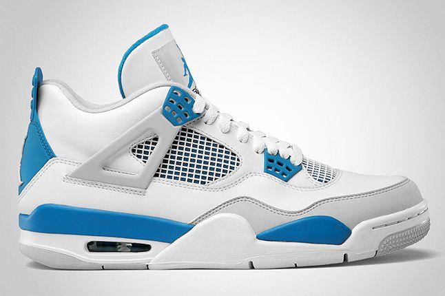 Air Jordan Retro 4 Military Blue 1 1