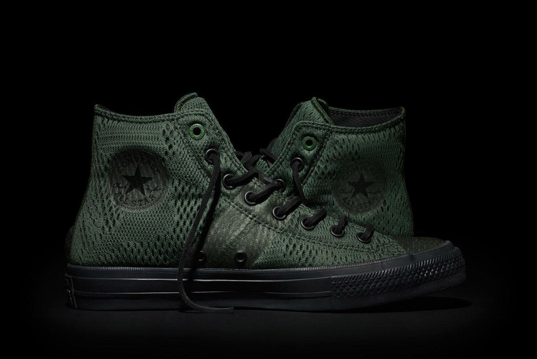 Converse Chuck Taylor All Star Ii Engineered Mesh Green 1