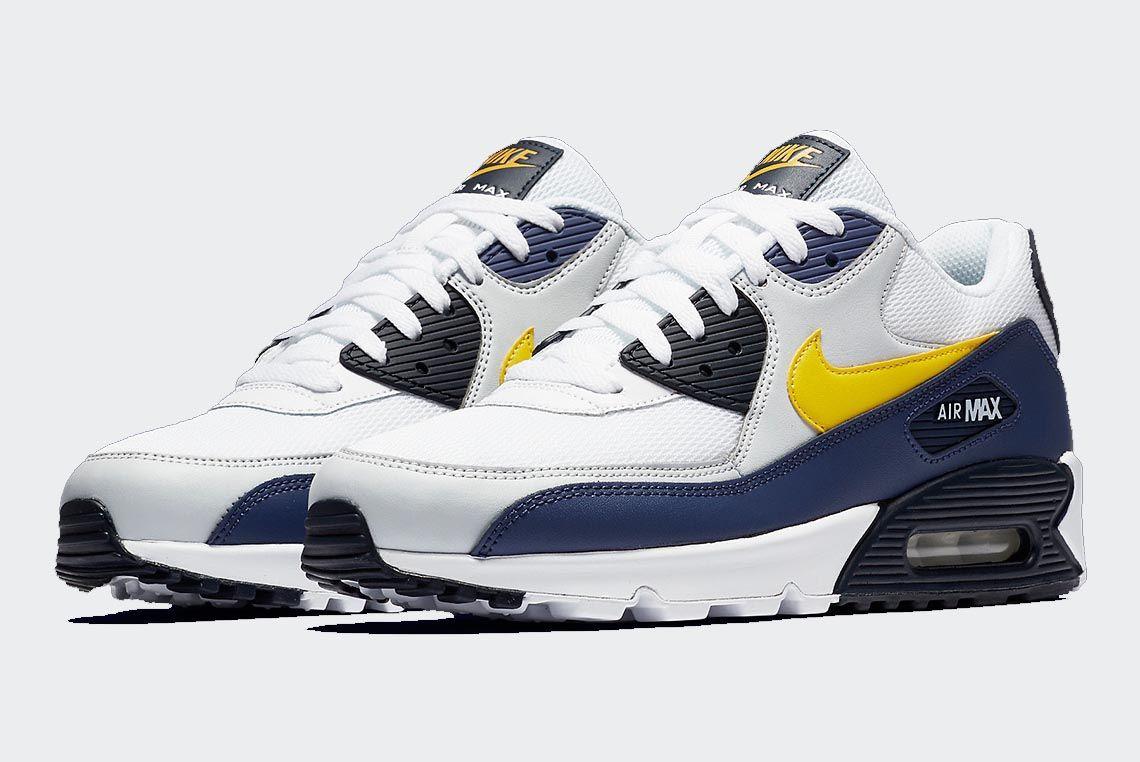 Nike Air Max 90 Michigan Aj1285 101 Buy Now 1 Sneaker Freaker