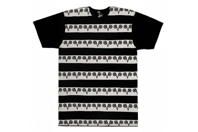 Octobers Very Own T Shirt Black White