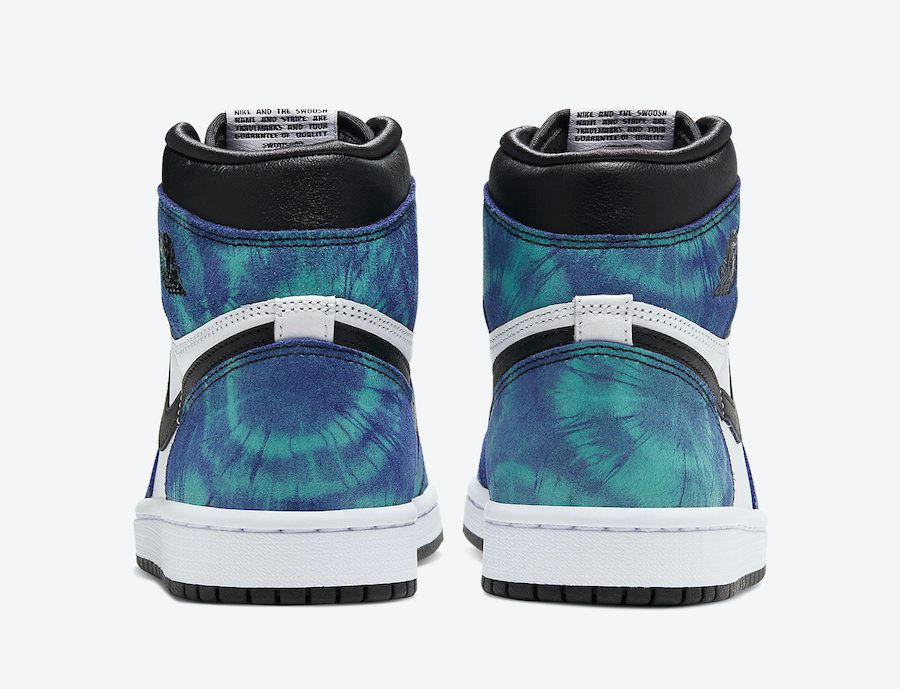 Air Jordan 1 Tie-Dye Heel