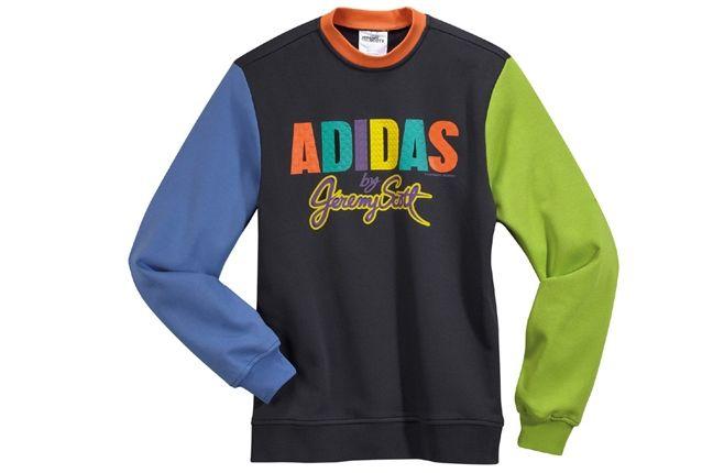 Adidas Jeremy Scott Crew Sweatshirt 5 1