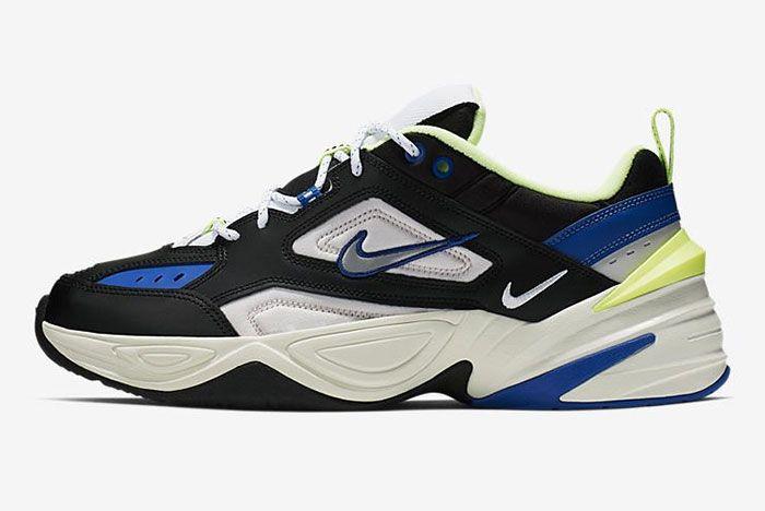 Nike M2 K Tekno Blue Black Volt Side Shot 1