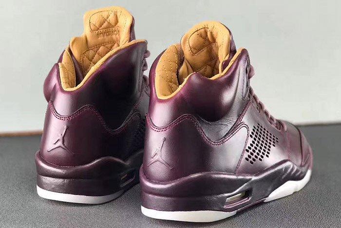 Air Jordan 5 Premium Bordeaux Oxblood Leather 7