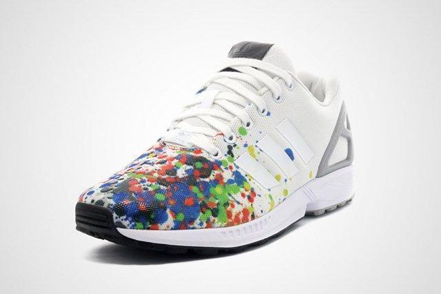 Adidas Zx Flux Splattered Toe