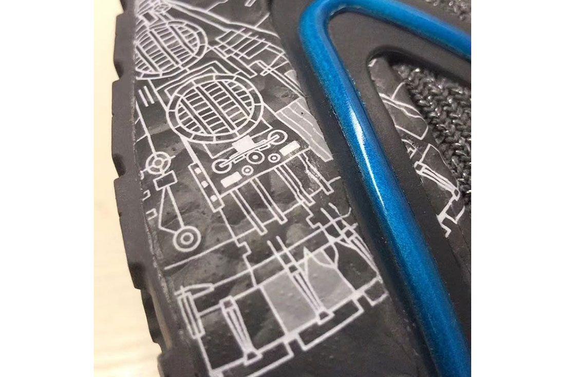 Star Wars Adidas Ultra Boost 19 Millennium Falcon 3 Sole
