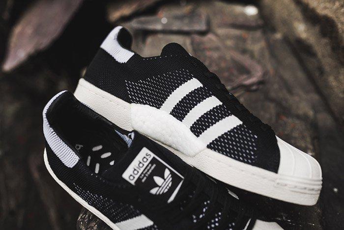 Adidas Superstar Boost Primeknit Black 8