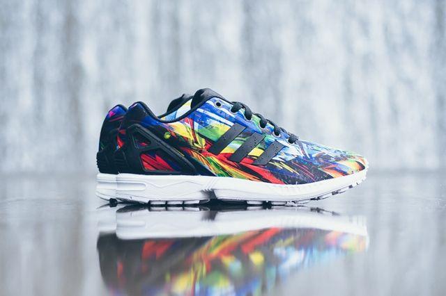 Adidas Zx Flux Printed Tropics 4