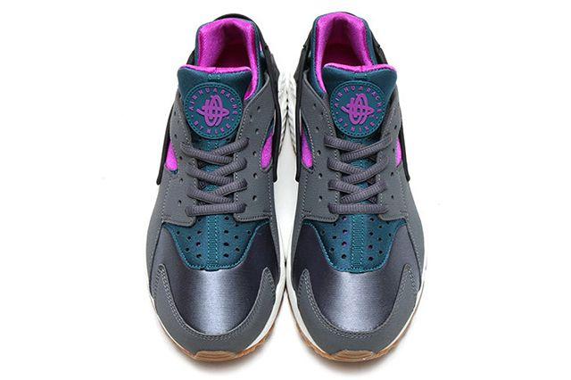 Nike Air Huarache Wmns Dark Greyteal5