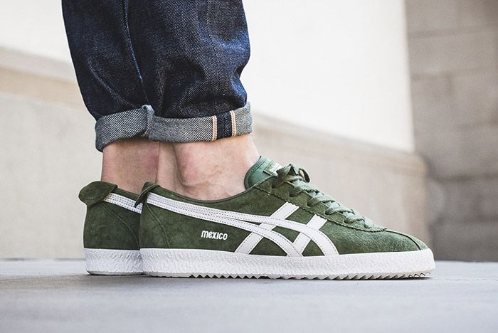 Onitsuka Tiger Mexico Delegation Chive Green 1