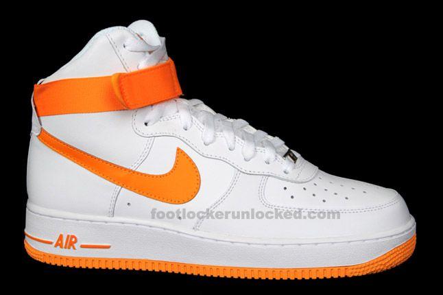 Nike Air Force 1 Hi Vivid Orange 01 1