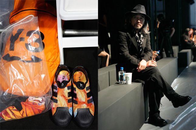 Yohji Yamamoto Adidas Spring Summer 2013 1