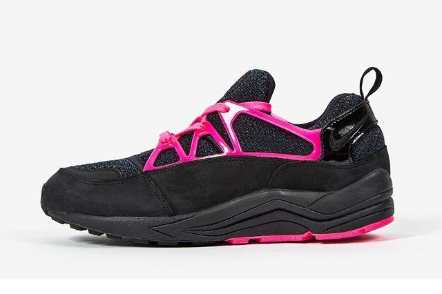 Nike Air Huarache Light Black Fierce Pink 4