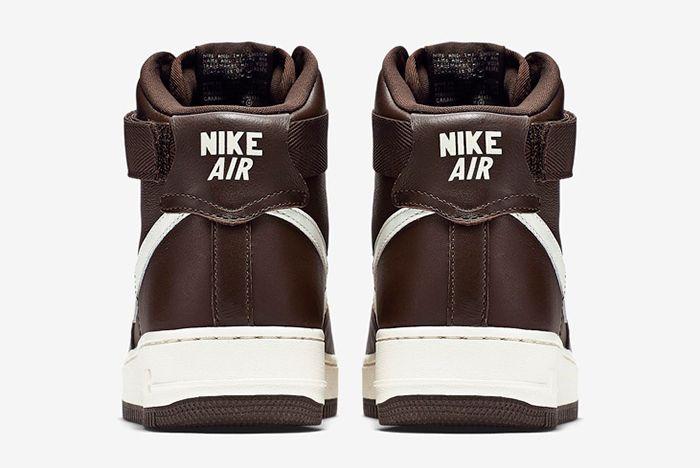 Nike Air Force 1 High Chocolate3