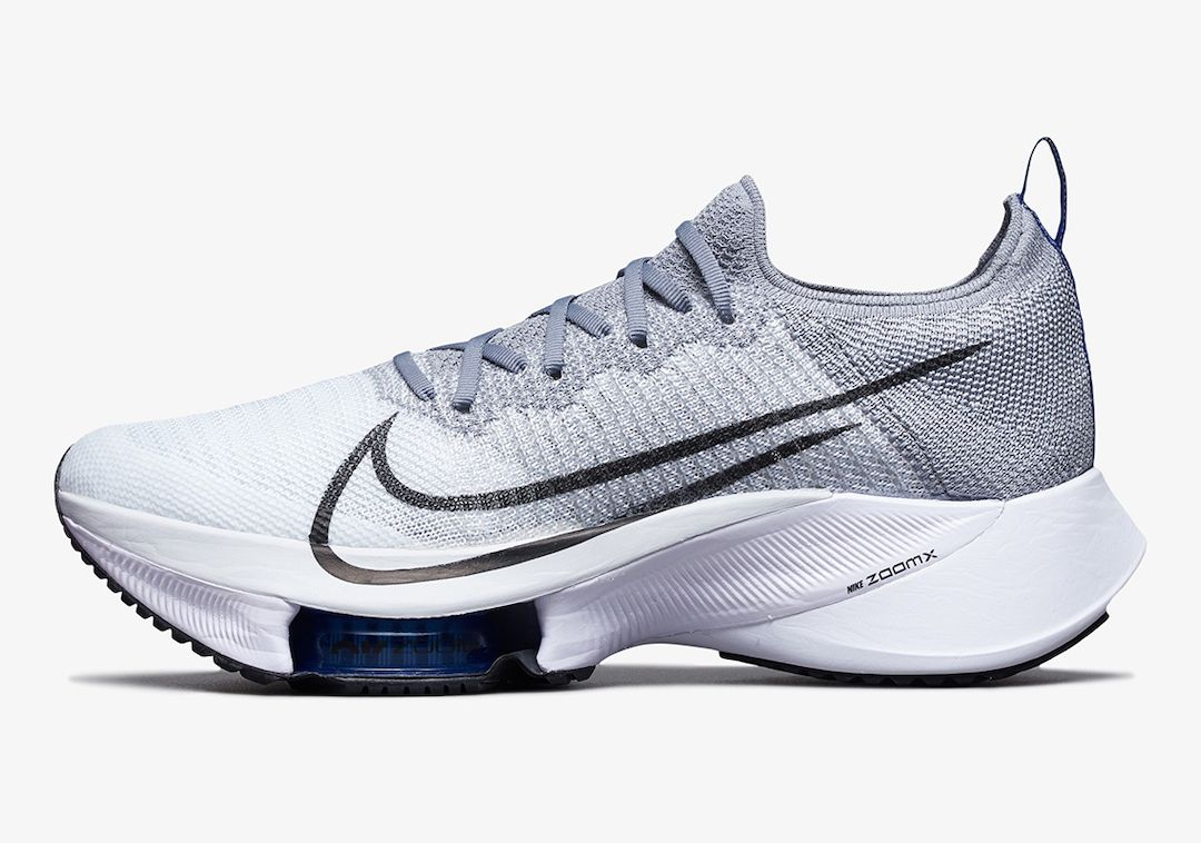 Nike Air Zoom Tempo NEXT% Grey Left