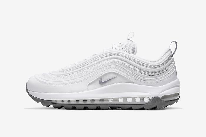 Nike Air Max 97 Golf White Grey Lateral
