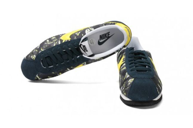 Nike Cortez Prm Tiger Camo Pack Yellow 3 1