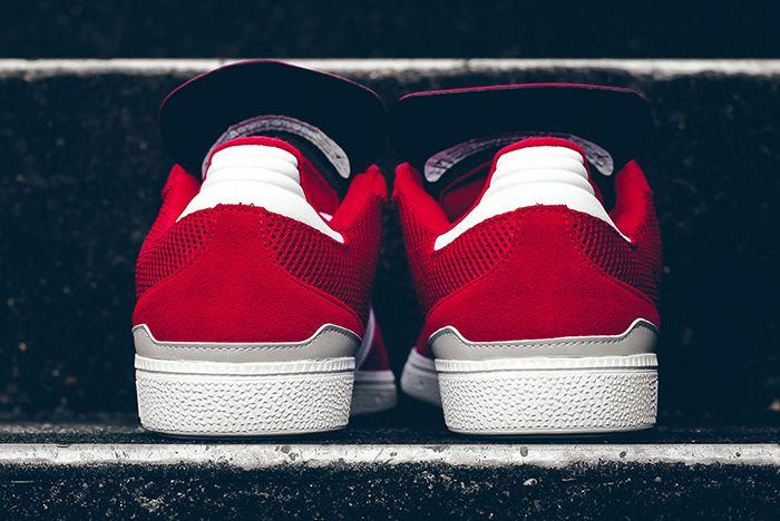 Adidas Busenitz Red Mesh 1