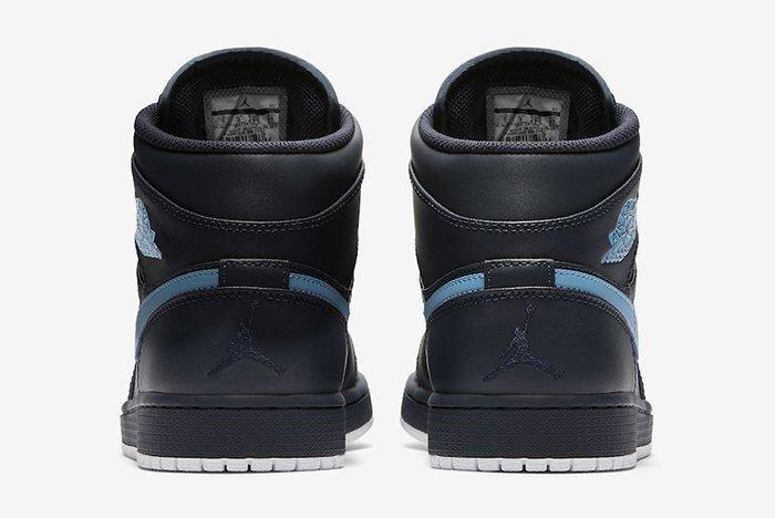 Nike Air Jordan 1 Mid Obsidian University Blue 4