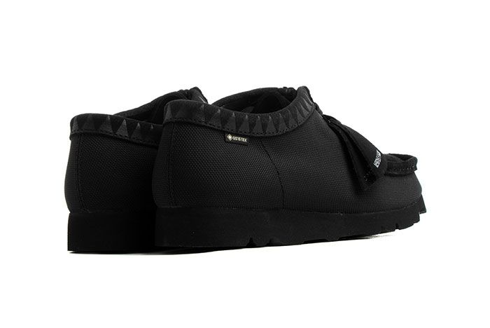 Neighborhood Clarks Wallabee Rear Angle