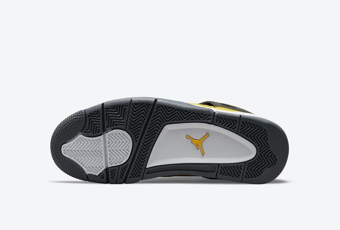 Air Jordan 4 Lightning 2021 CT8527-700
