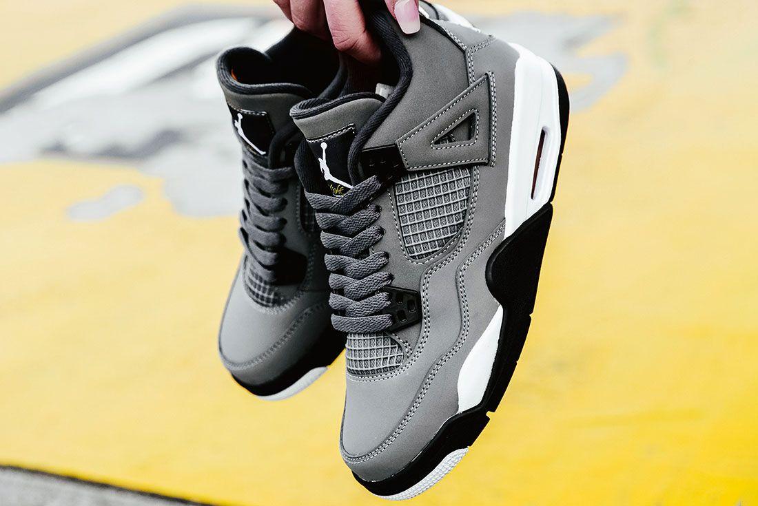 Air Jordan 4 Cool Grey Pair4