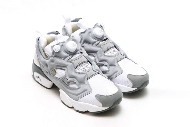 Reebok Insta Pump Fury White Flat Grey 3
