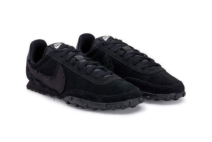 Comme Des Garcons Nike Waffle Racer 2 Black Toe