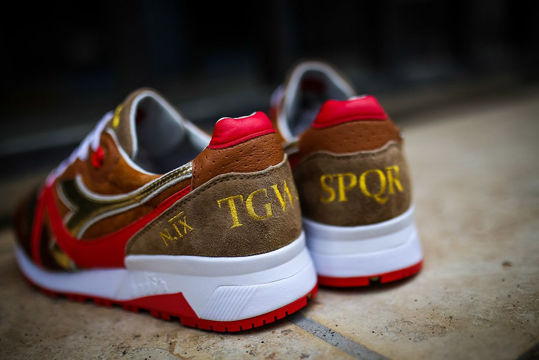 The Good Will Out Diadora N9000 Spqr 3
